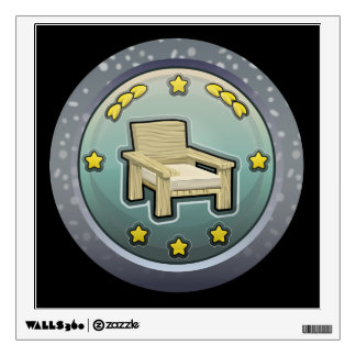 Glitch: achievement honourable chairperson wall decal