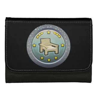 Glitch: achievement honourable chairperson wallet for women