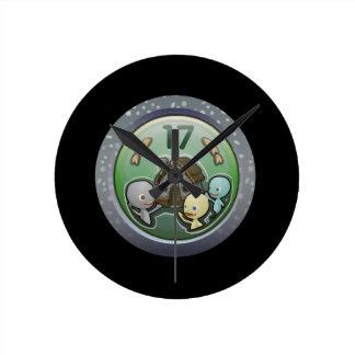 Glitch: achievement house party round clock