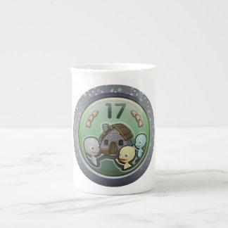 Glitch: achievement house party bone china mugs