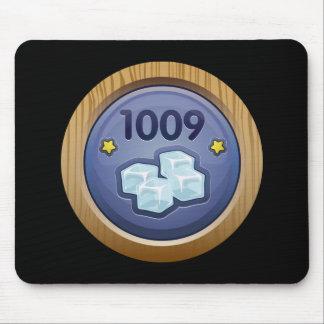 Glitch: achievement ice cruncher mouse pad