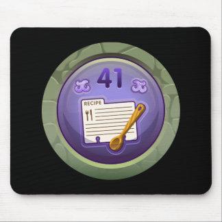 Glitch: achievement junior dough puncher mouse pad