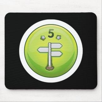 Glitch: achievement junior ok-explorer mouse pad