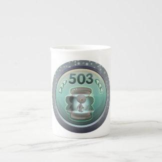 Glitch: achievement licenced teleporter whoa class bone china mug