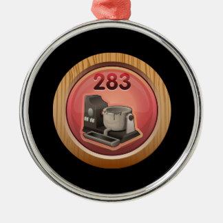 Glitch: achievement metal masseuse metal ornament