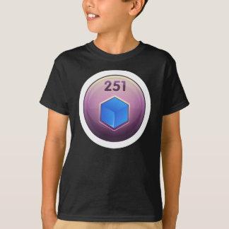 Glitch Achievement minor refiner blue class T-Shirt