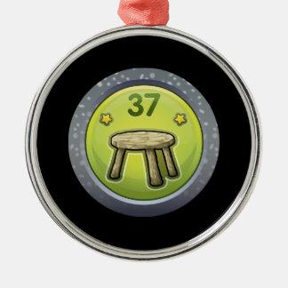 Glitch Achievement novice furniturer Metal Ornament