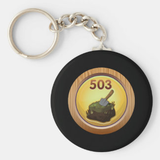 Glitch Achievement obsessive compulsive re peater. Keychain