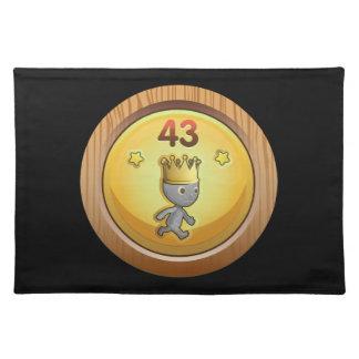 Glitch Achievement order of the chicken dormant.pn Cloth Placemat