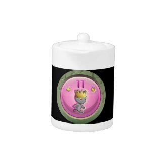 Glitch Achievement order of the rearing piggy Teapot