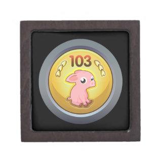 Glitch Achievement piggy hash slinger 1st class.pn Jewelry Box
