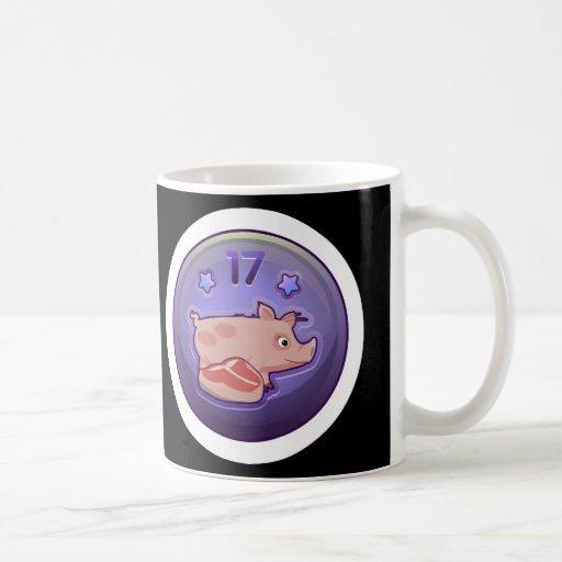 Glitch Achievement piggy nibbler Coffee Mug