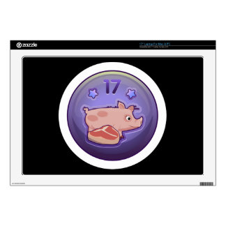 Glitch Achievement piggy nibbler Decal For Laptop