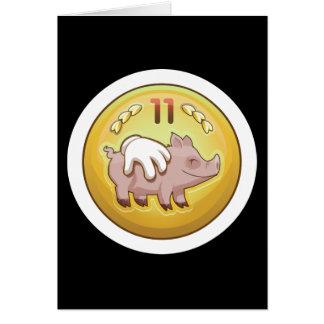 Glitch Achievement pork fondler Card