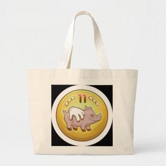 Glitch Achievement pork fondler Large Tote Bag
