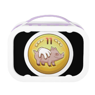 Glitch Achievement pork fondler Lunch Box