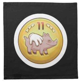 Glitch Achievement pork fondler Napkin