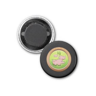Glitch Achievement porker porter ii 1 Inch Round Magnet