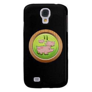 Glitch Achievement porker porter ii Samsung S4 Case