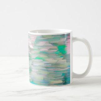 Glitch Art Hot Beverage Dispenser Coffee Mug