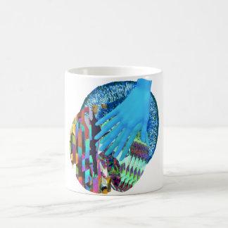Glitch Art Trippy Hand Mug
