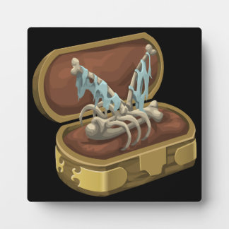 Glitch: artifact butterfly hair clip plaque