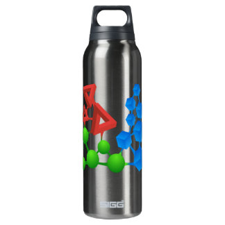 Glitch: compounds alphose 16 oz insulated SIGG thermos water bottle