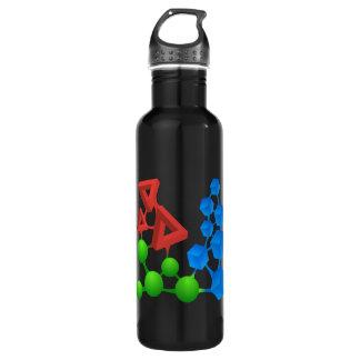 Glitch: compounds alphose 24oz water bottle