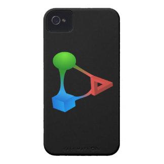 Glitch: compounds diabolic acid iPhone 4 Case-Mate case