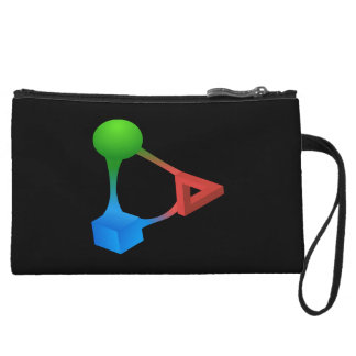 Glitch: compounds diabolic acid wristlet wallet