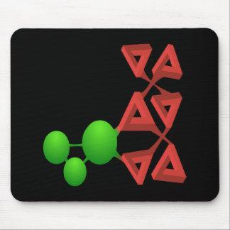 Glitch: compounds groddlene mouse pad