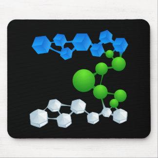 Glitch: compounds mabon mouse pad