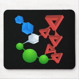 Glitch: compounds rubemycin mouse pad