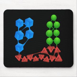 Glitch: compounds spriggase mouse pad