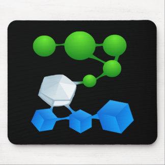 Glitch: compounds zillene mouse pad