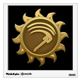 Glitch Emblem Mab Wall Sticker