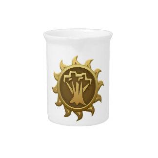 Glitch Emblem Spriggan Beverage Pitcher