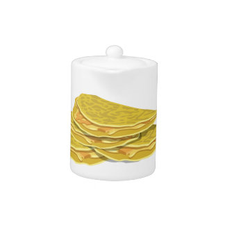 Glitch Food basic omelet Teapot