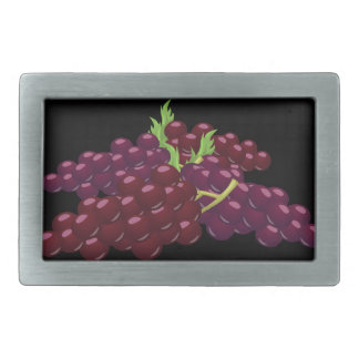 Glitch Food bunch of grapes Belt Buckle