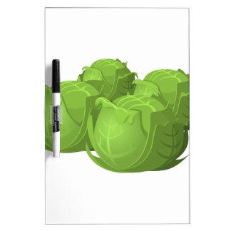 Glitch Food cabbage Dry Erase Board