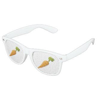 Glitch Food carrot Retro Sunglasses