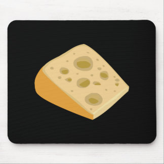 Glitch Food cheese very stinky Mouse Pad