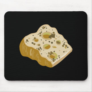 Glitch Food cheese very very stinky Mouse Pad