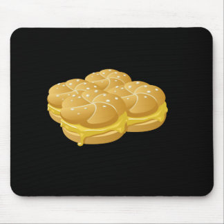 Glitch Food cheezy sammich Mouse Pad