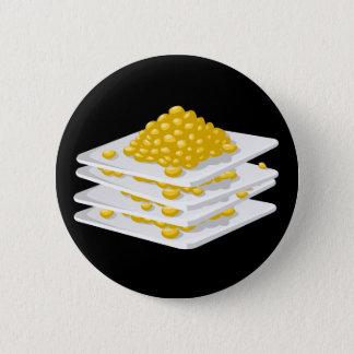 Glitch Food corn off the cob Pinback Button