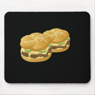 Glitch Food deluxe sammich Mouse Pad