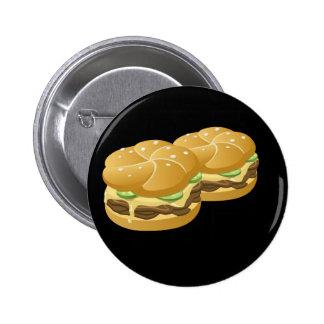 Glitch Food deluxe sammich Pinback Button