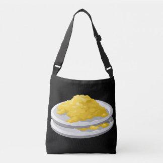 Glitch Food eggy scramble Crossbody Bag