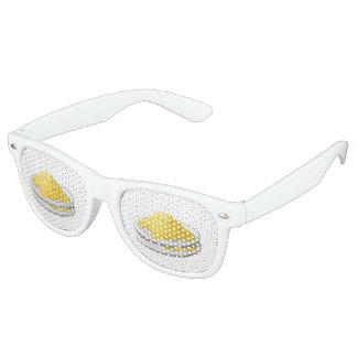 Glitch Food eggy scramble Retro Sunglasses