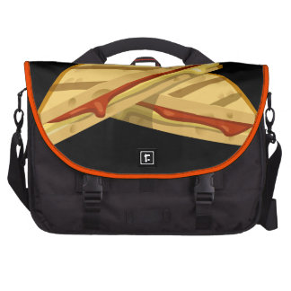 Glitch Food expensive grilled cheese Commuter Bag